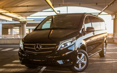 Transfer with Mercedes VAN