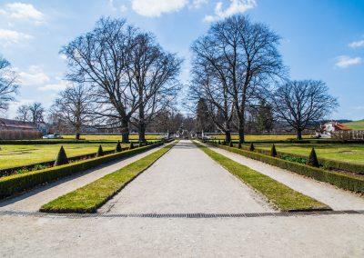 Kurmau Castle Park / Schlosspark