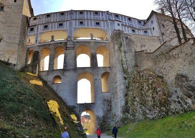 cloak bridge / Mantelbrücke