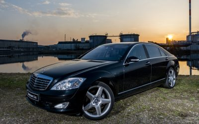 Transfer with Mercedes S Class