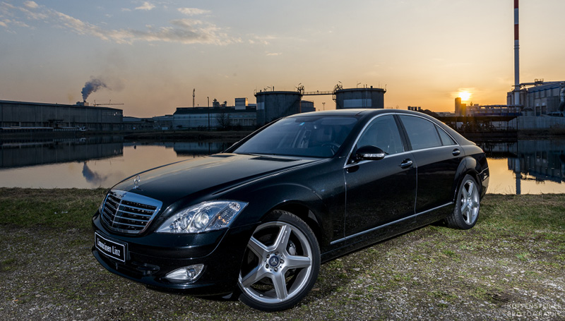 Transfer mit Mercedes S500