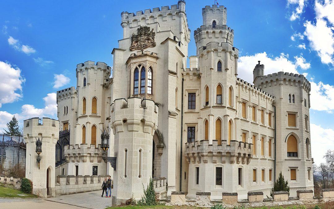 Fairytale castle Hluboká nad Vltavou